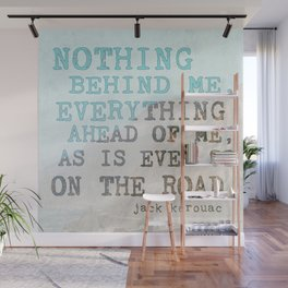 On the Road Wall Mural