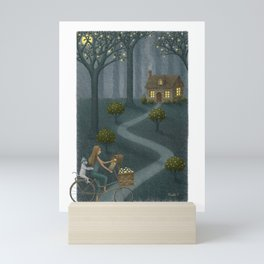 Midnight Delivery Mini Art Print