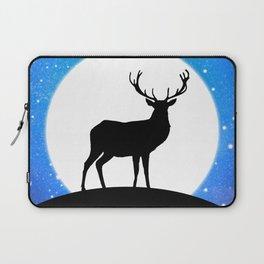 Deer and Moon Laptop Sleeve