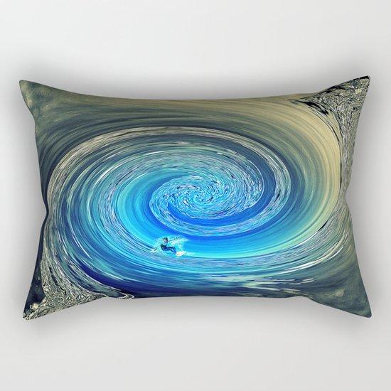 Surf Spiral Rectangular Pillow
