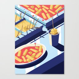 A night out in Seoul - Part 4 - Hangover Food Canvas Print