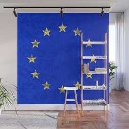 EU Flag Wall Mural