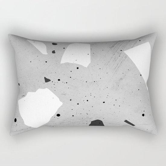 painted terrazzo 3 Rectangular Pillow