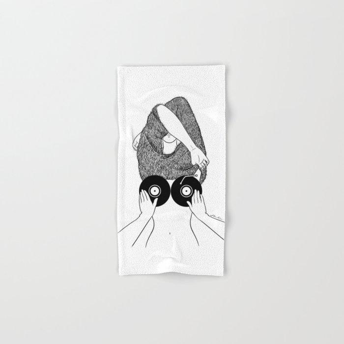 Sound Making Hand & Bath Towel