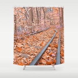 Abandoned Susquehanna Railroad - Fantasy Express Shower Curtain