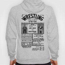 #9 Memphis Wrestling Window Card Hoody