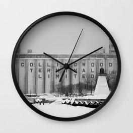 Terminal Wall Clock