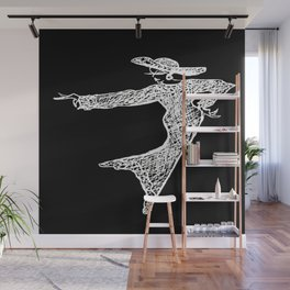 Inverted. Grace & Manners Logo Wall Mural