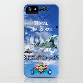 FUSION OF FLIGHT iPhone Case