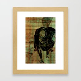 File Not Found Framed Art Print