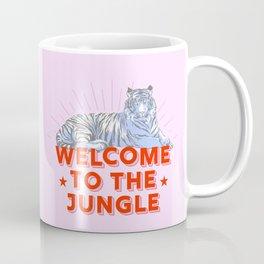 welcome to the jungle - retro tiger Coffee Mug