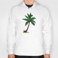 palm tree Hoodies featuring palm tree by Li-Bro