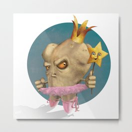 The Rotten Tooth Fairy Metal Print