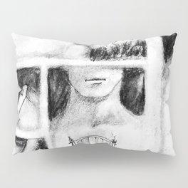 El Portero - Surreal Draw - Psychological Visual Story Pillow Sham