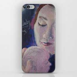 Lullaby Moon iPhone Skin