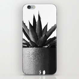 ''Nowhere Collection'' - Cacti Plant Print iPhone Skin