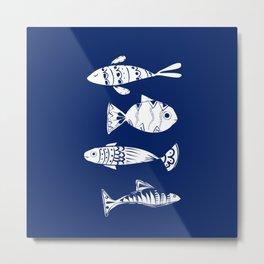 Sea fishes Metal Print
