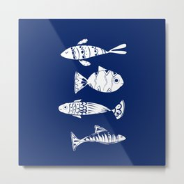 Sea fishes Metal Print
