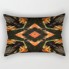 Swirling Koi Rectangular Pillow