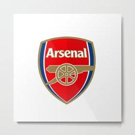 Arsenal Logo Metal Print