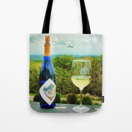 Wine and a View Tote Bag