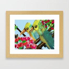 Tropical Days Framed Art Print
