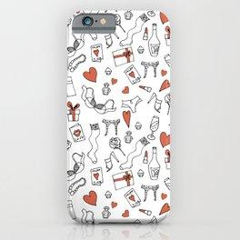 attributes of romantic iPhone Case