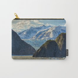Sea Glaicer Mountains Carry-All Pouch