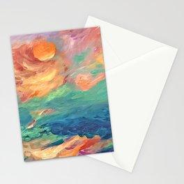 balance...sunrise Stationery Cards