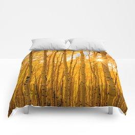 AUTUMN ASPENS OF COLORADO Comforters