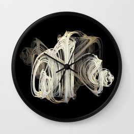 3D Fractal Skein Wall Clock