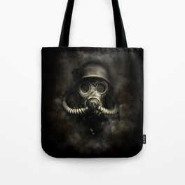 Vintage, soujer, warrior gas mask Tote Bag