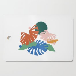 botanical dreamscape Cutting Board