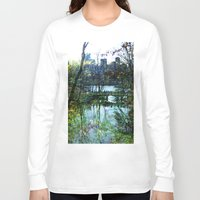 central park Long Sleeve T-shirts featuring Central Park  by aLovelyNotion