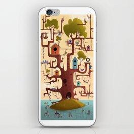 Treehouse iPhone Skin