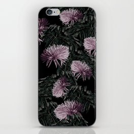 Night Floral iPhone Skin