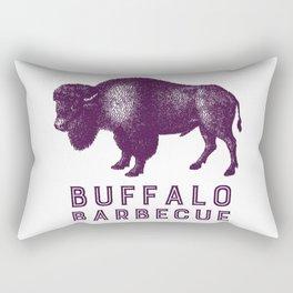 Buffalo Barbecue Rectangular Pillow