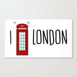 Love London Canvas Print