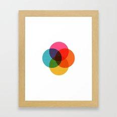geometric 001 Framed Art Print