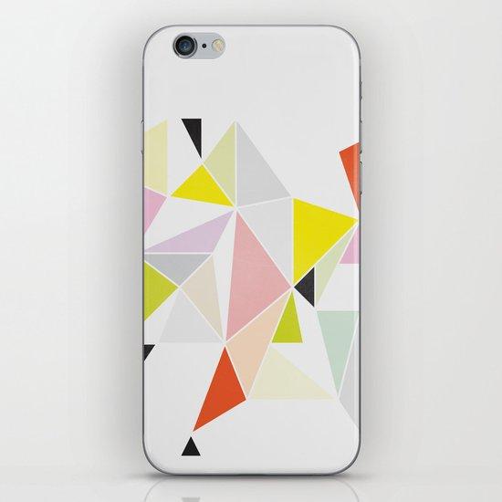 Multicolor Geometric iPhone & iPod Skin