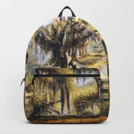 Classical African American Landscape 'Boone Hall Plantation' by Edwin Harleston Backpack