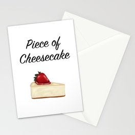 Piece of Cheesecake Stationery Cards