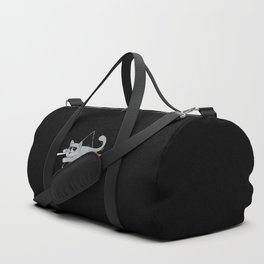 The Dark Side of Cats Duffle Bag