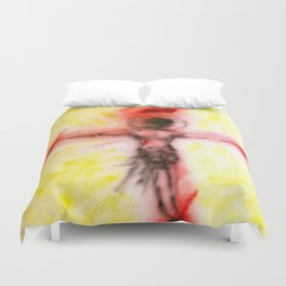 Crucified...for us Duvet Cover