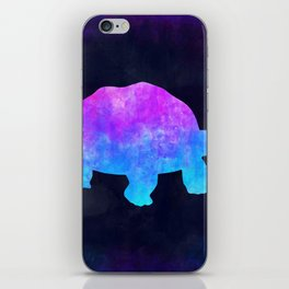 TORTOISE IN SPACE // Animal Graphic Art // Watercolor Canvas Painting // Modern Minimal Cute iPhone Skin