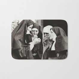 Nuns Smoking Bath Mat