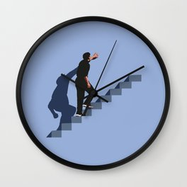 How's it going to end ? Wall Clock