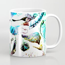 451 - Abstract leaves design Coffee Mug