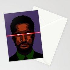 evil businessman  Stationery Cards