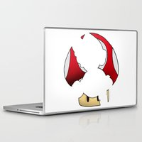 super mario Laptop & iPad Skins featuring Super Mario by SEANLAR94